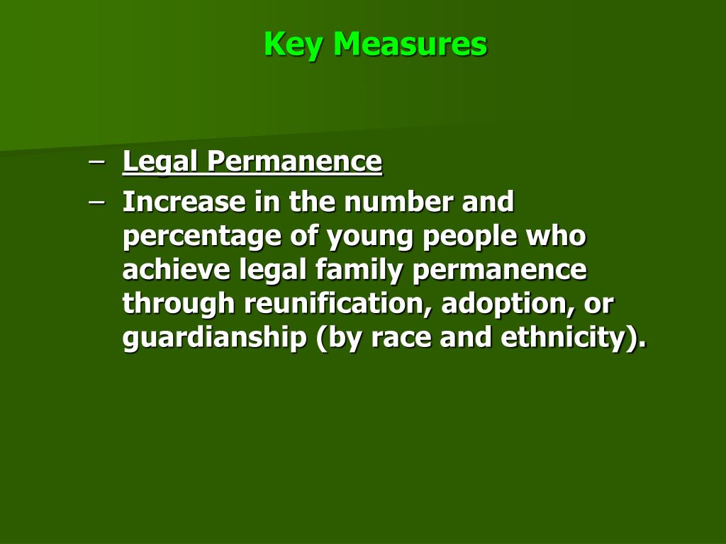 Key Measures