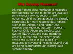 why develop measures