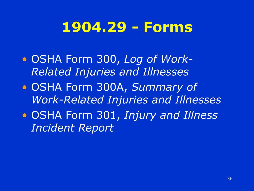1904.29 - Forms