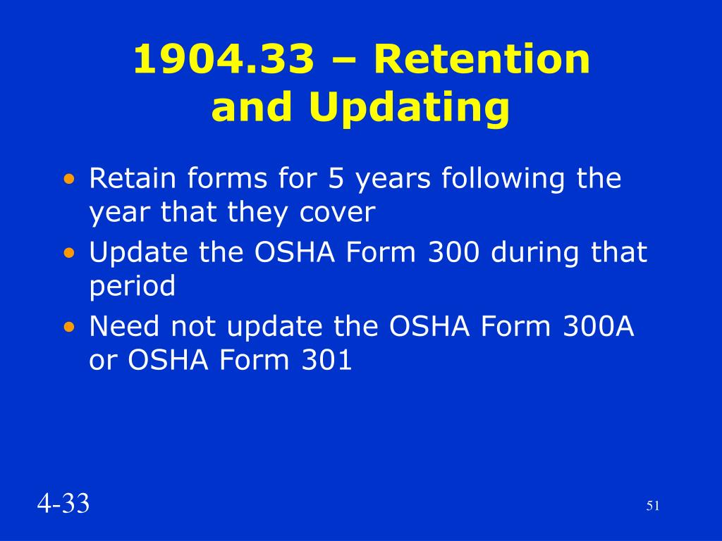 1904.33 – Retention