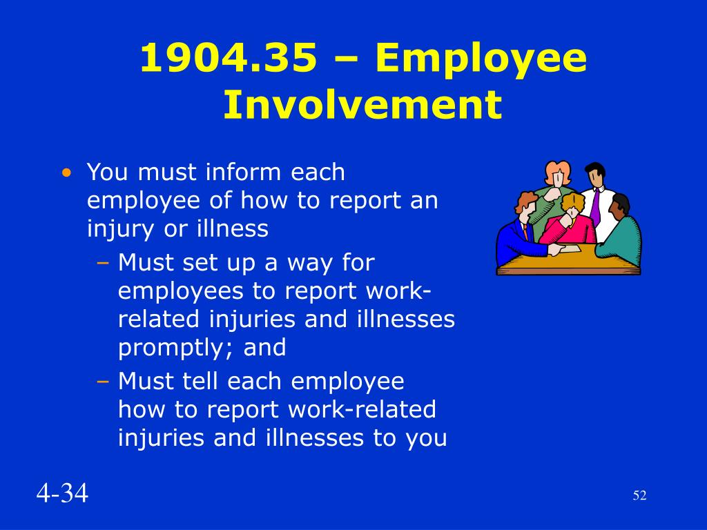 1904.35 – Employee Involvement