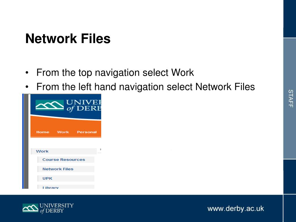 Network Files