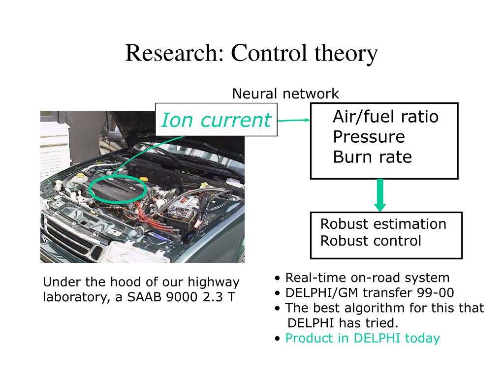 Research: Control theory