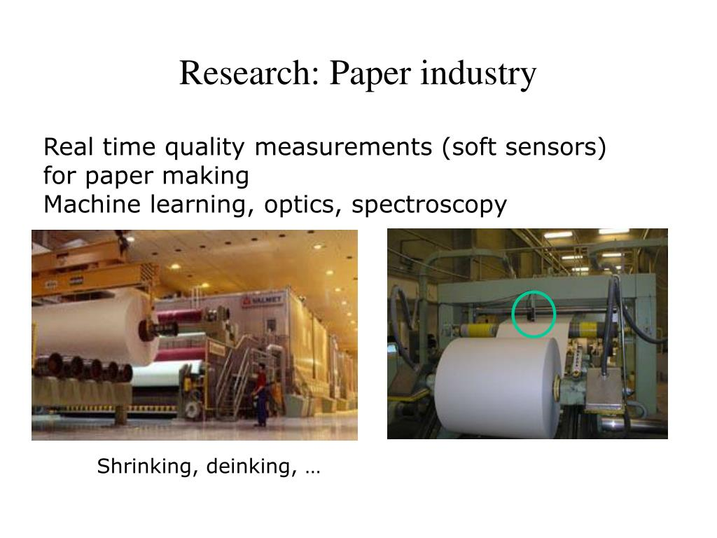 Research: Paper industry