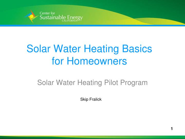 Solar water heating basics for homeowners l.jpg