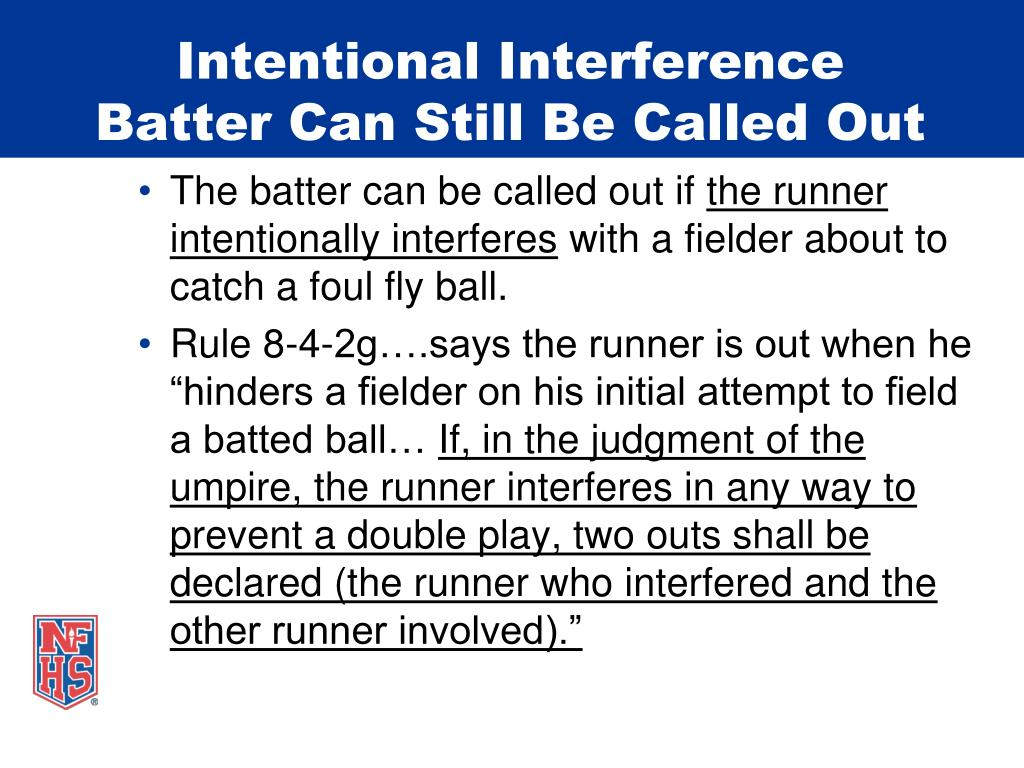 Intentional Interference