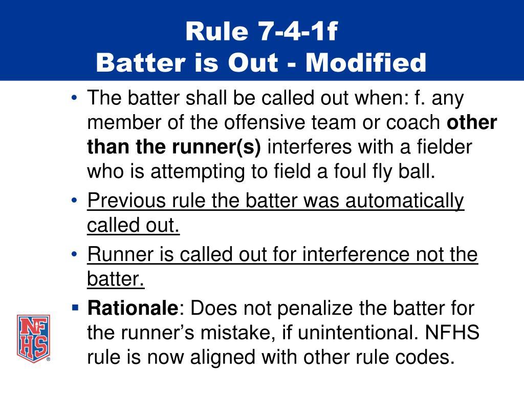Rule 7-4-1f