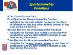 sportsmanship penalties10