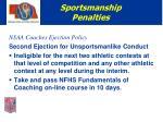 sportsmanship penalties8