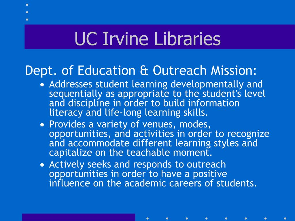 UC Irvine Libraries