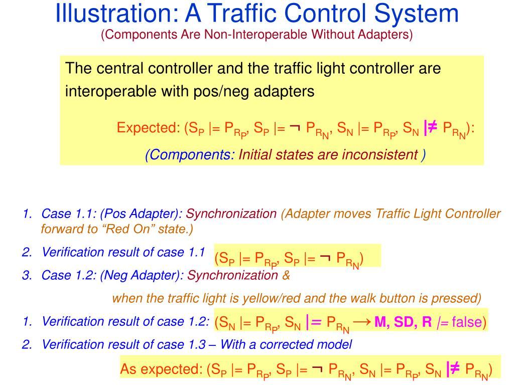 Illustration: A Traffic Control System