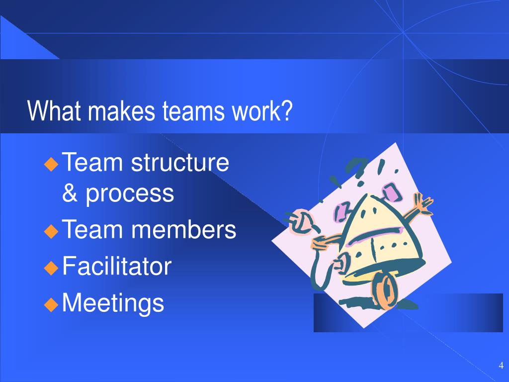 What makes teams work?