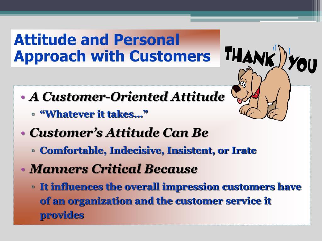 Attitude and Personal