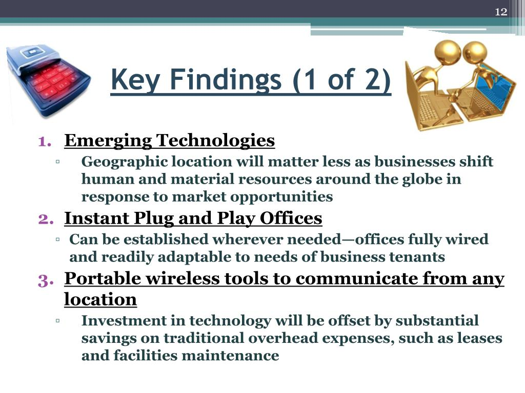 Key Findings (1 of 2)