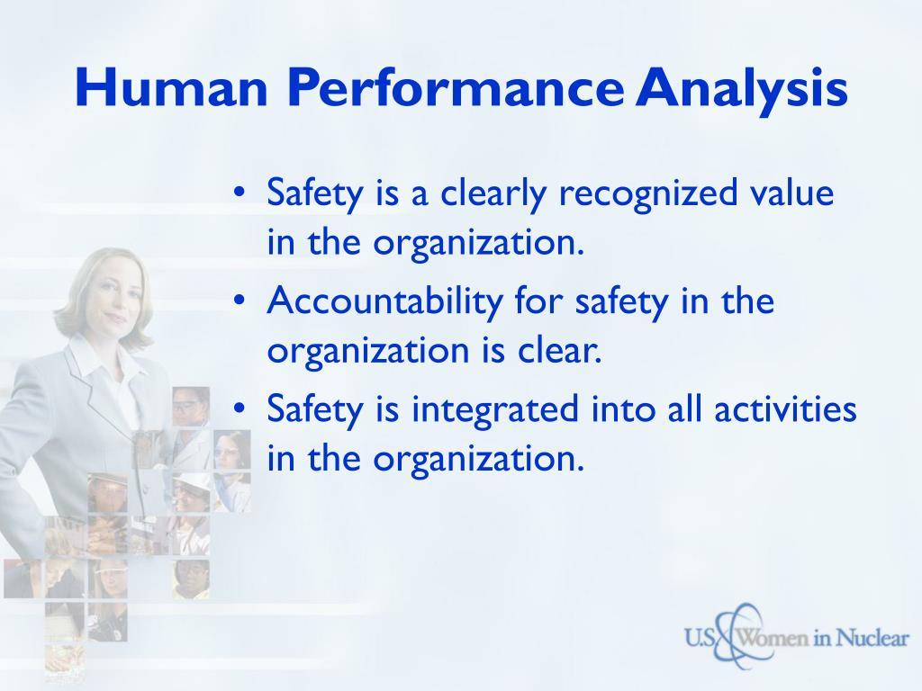 Human Performance Analysis