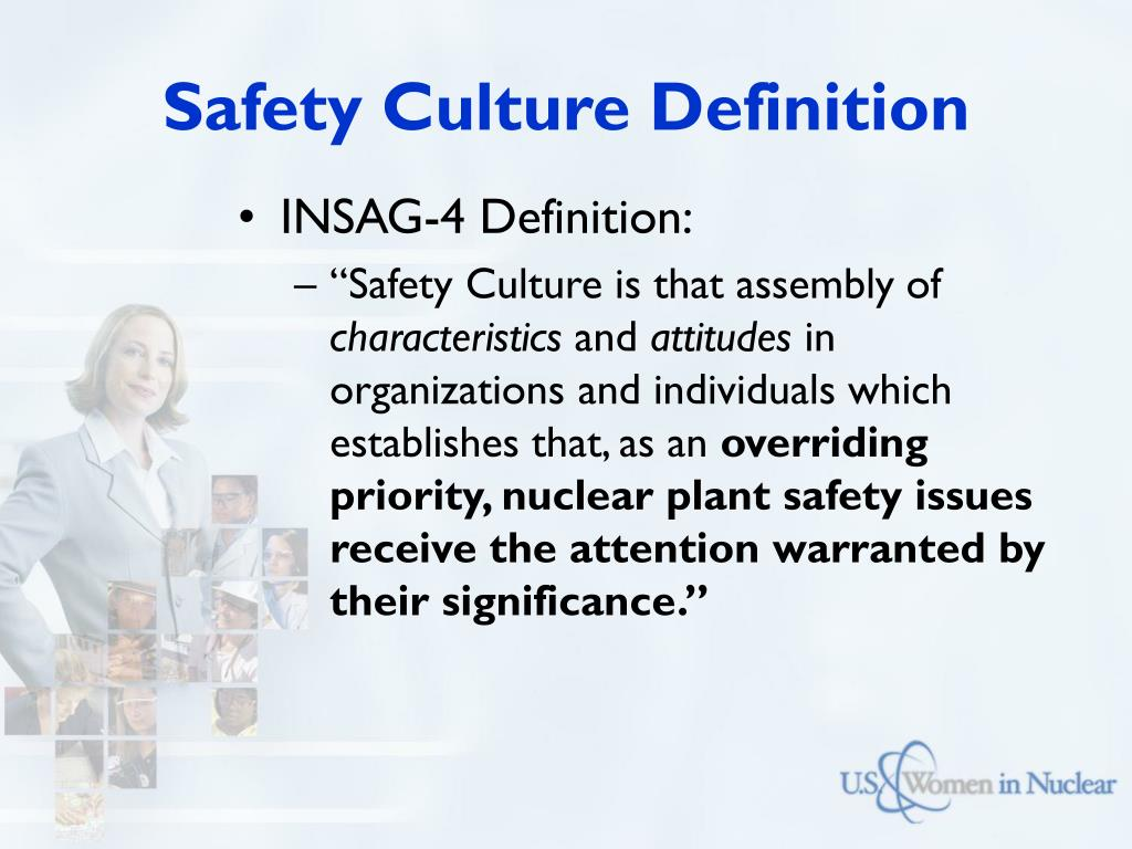 Safety Culture Definition