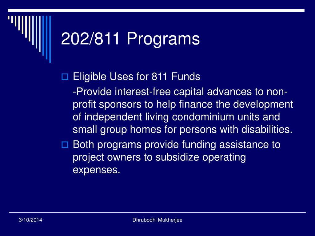 202/811 Programs