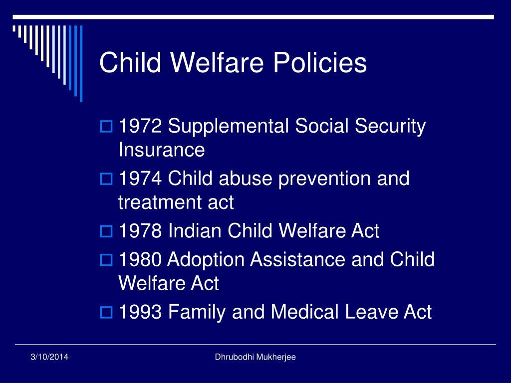 Child Welfare Policies