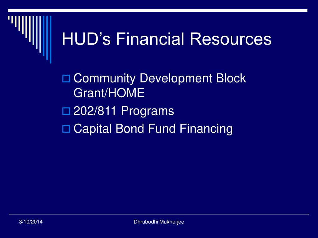 HUD's Financial Resources