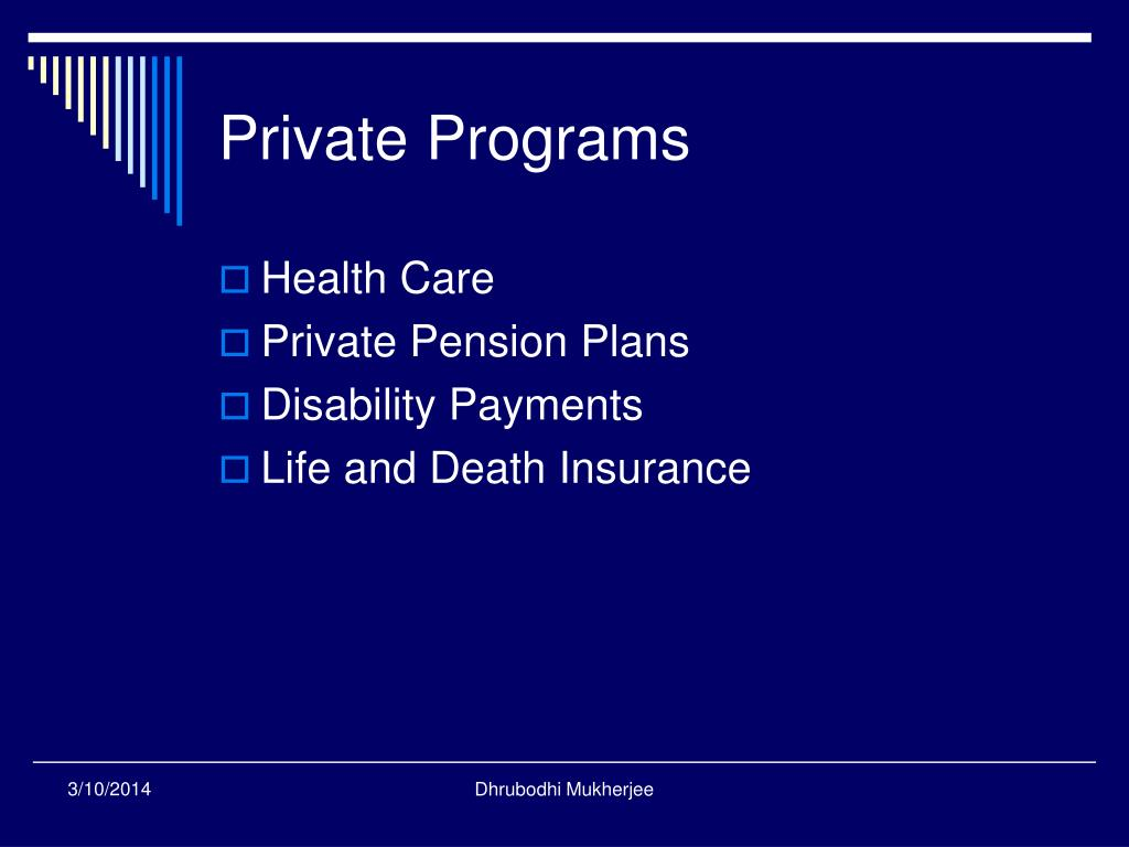Private Programs