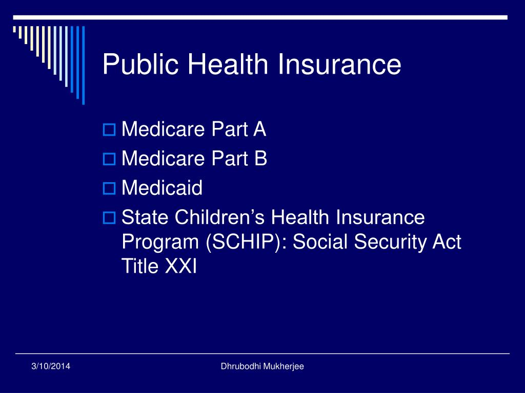 Public Health Insurance