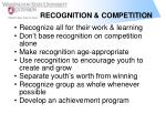 recognition competition