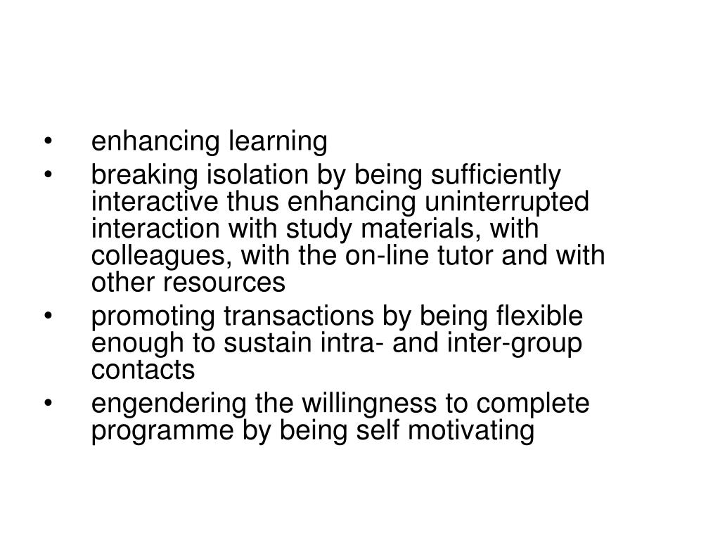 enhancing learning