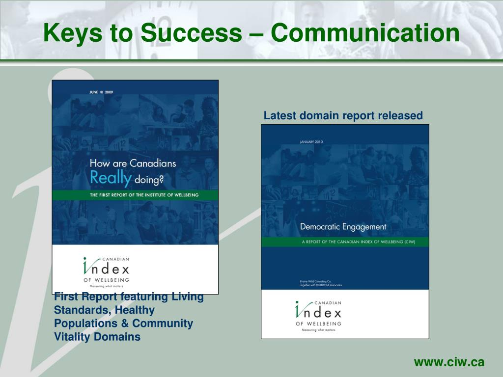 Keys to Success – Communication