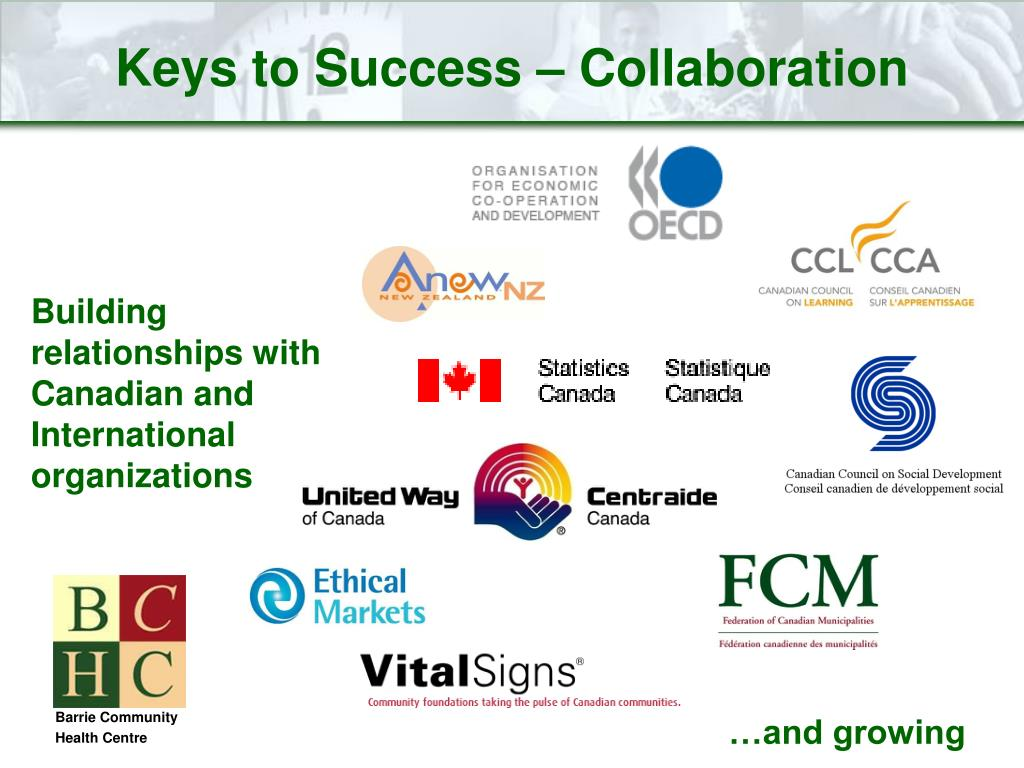 Keys to Success – Collaboration