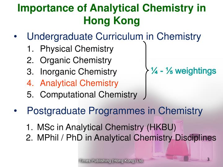 Importance of analytical chemistry in hong kong3