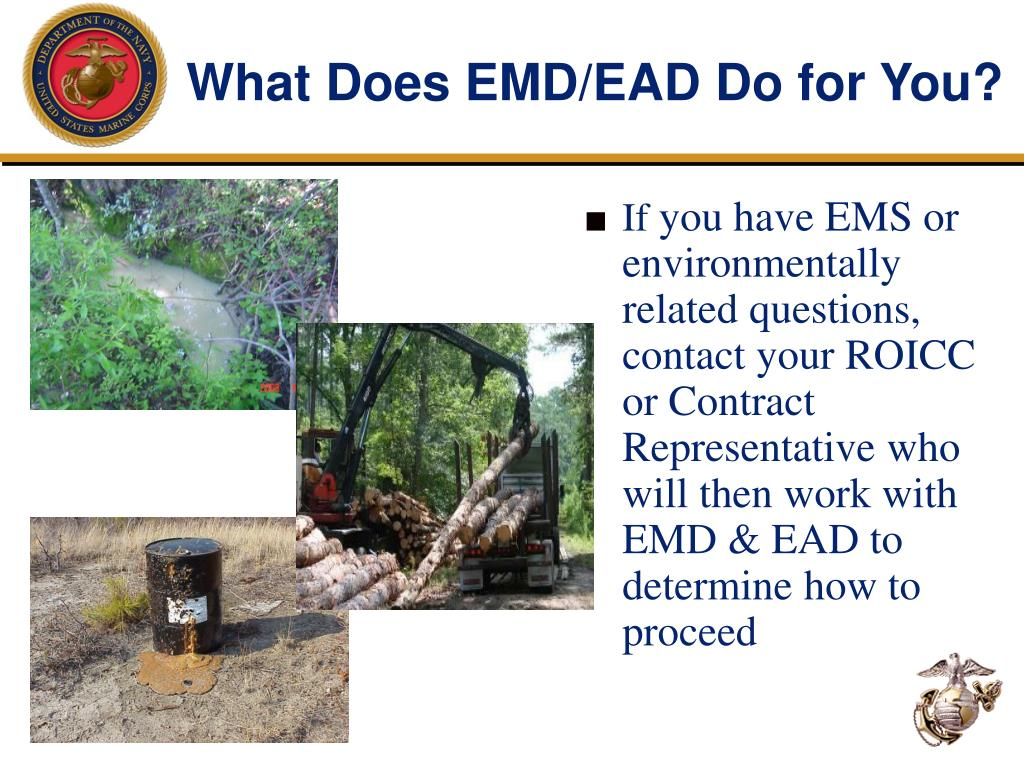 What Does EMD/EAD Do for You?