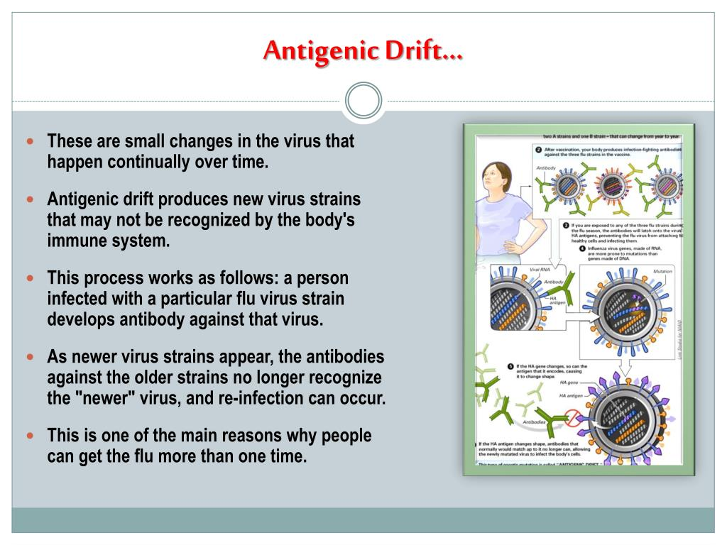 Antigenic Drift…