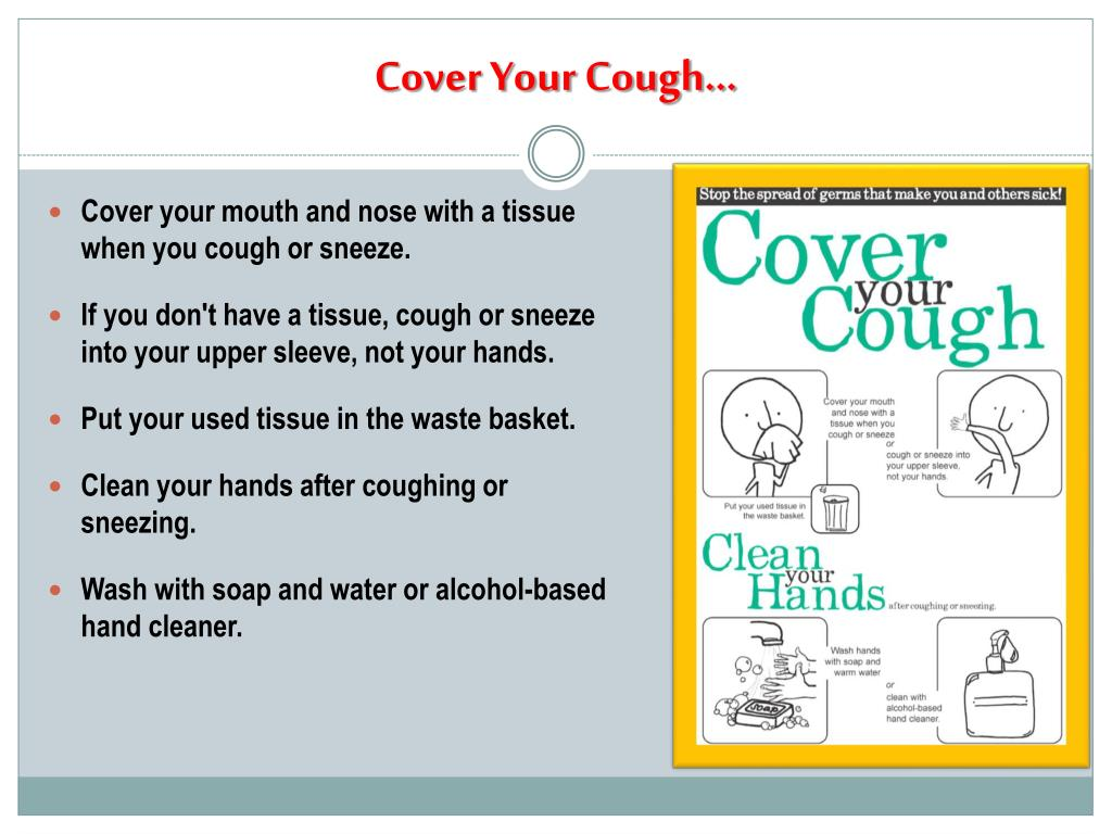 Cover Your Cough…