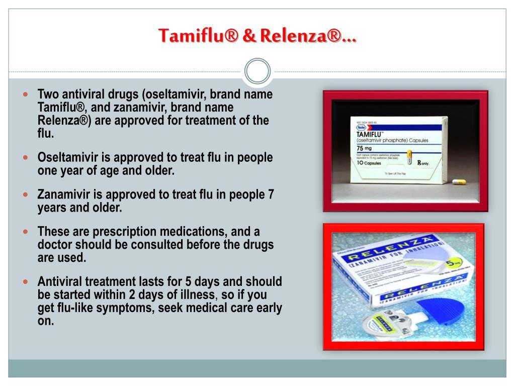 Tamiflu® & Relenza®…