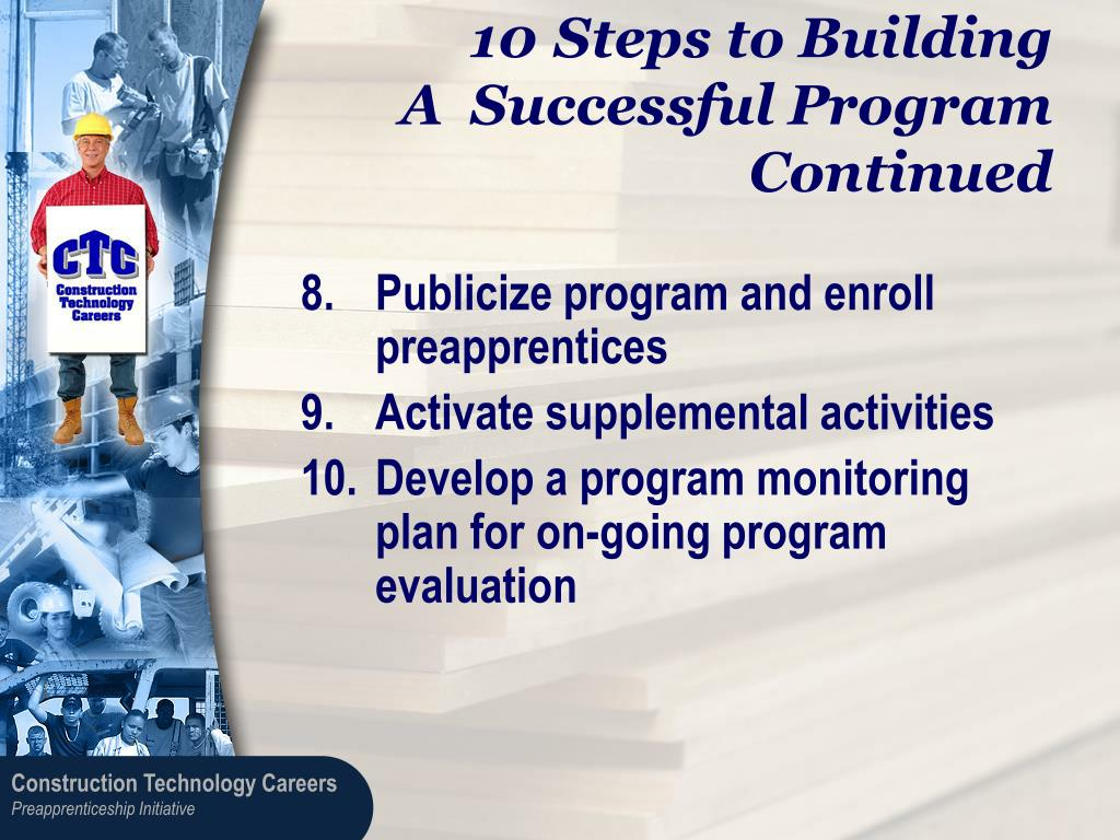 Steps to Building