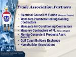 trade association partners