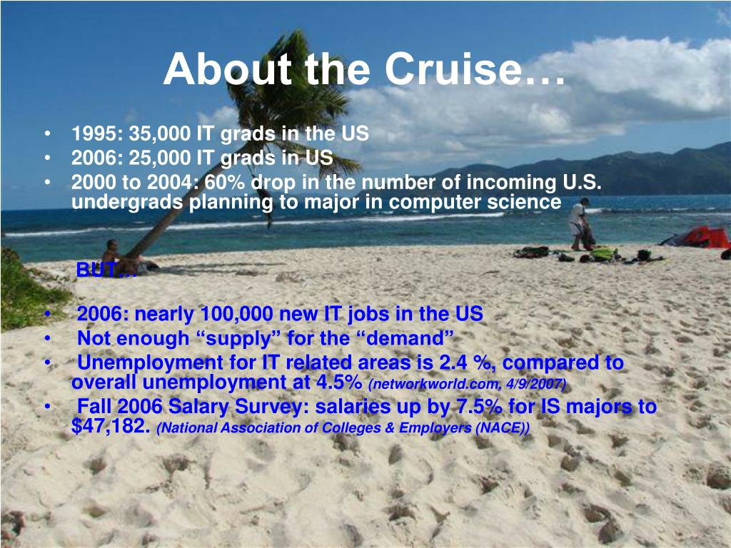About the Cruise…