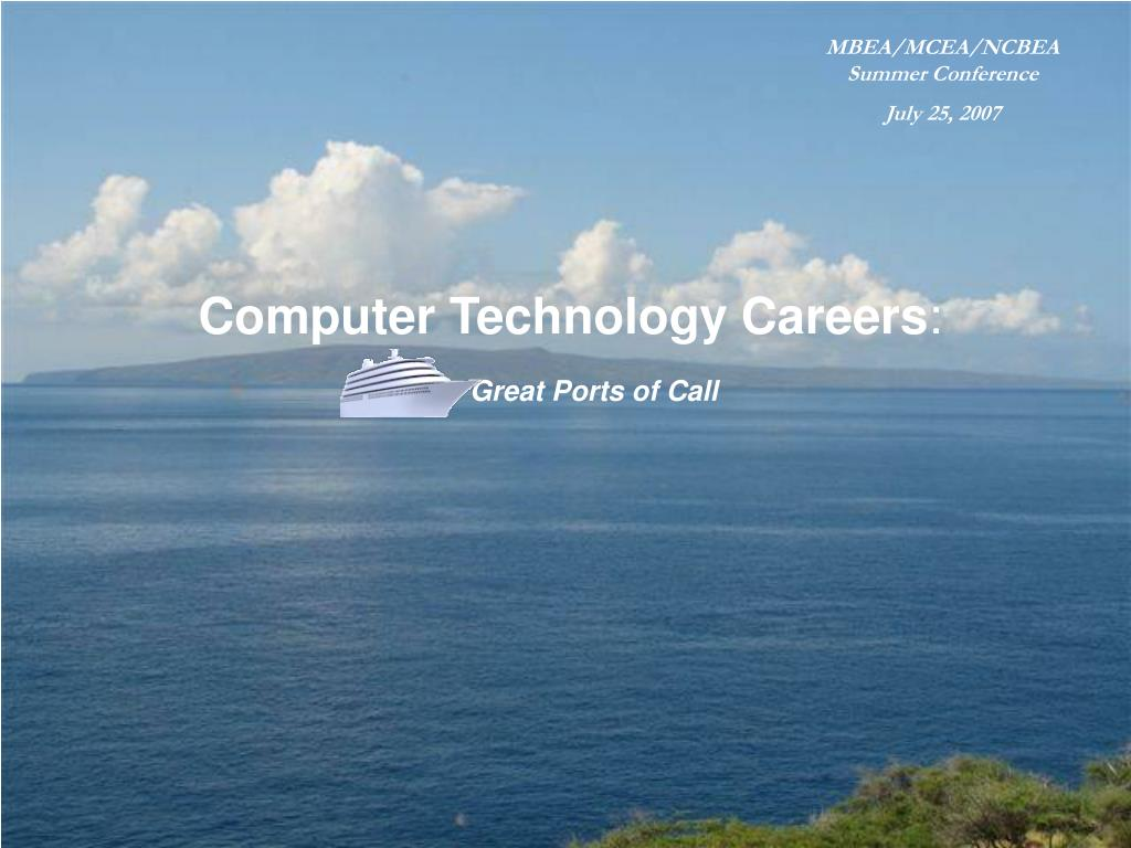 computer technology careers