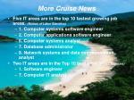 more cruise news