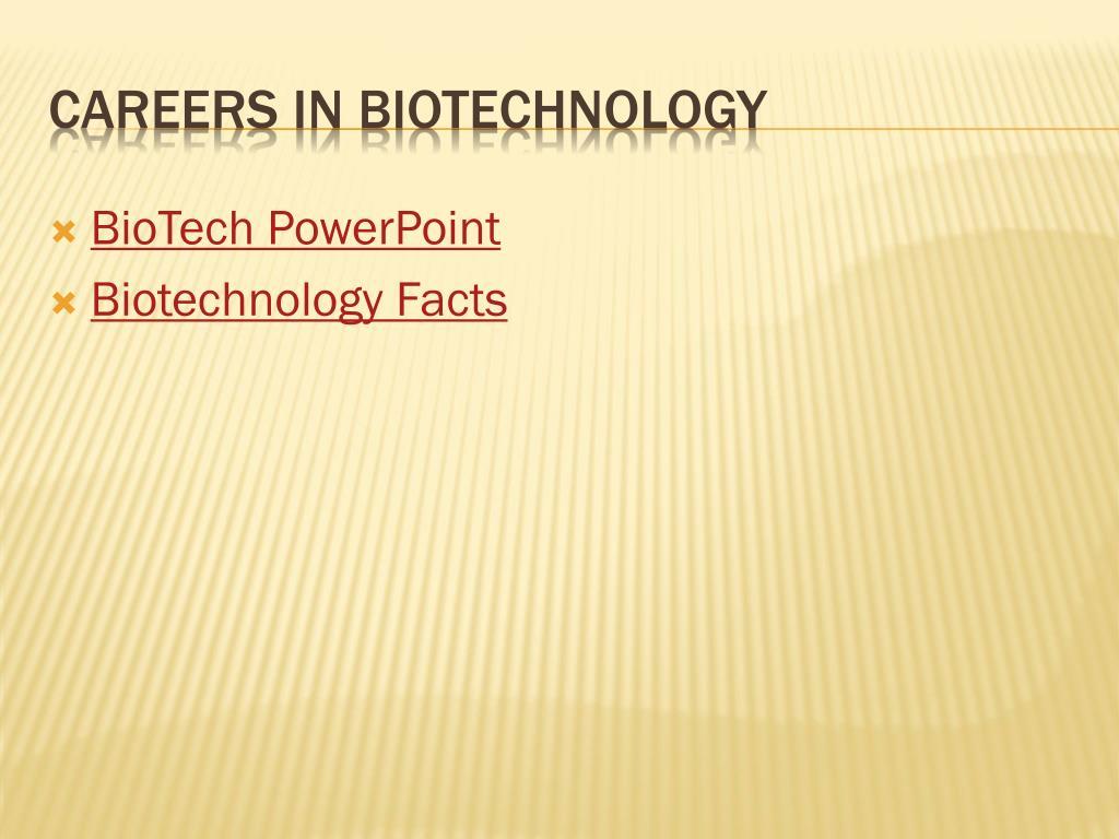 BioTech PowerPoint