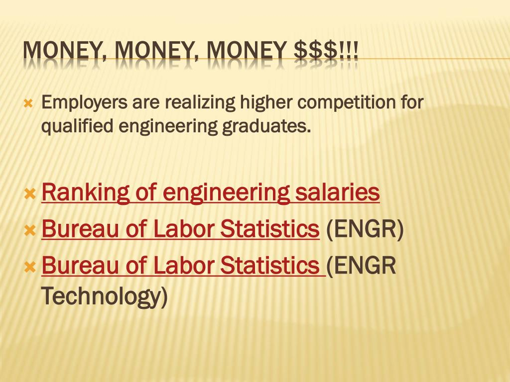 Employers are realizing higher competition for qualified engineering graduates.