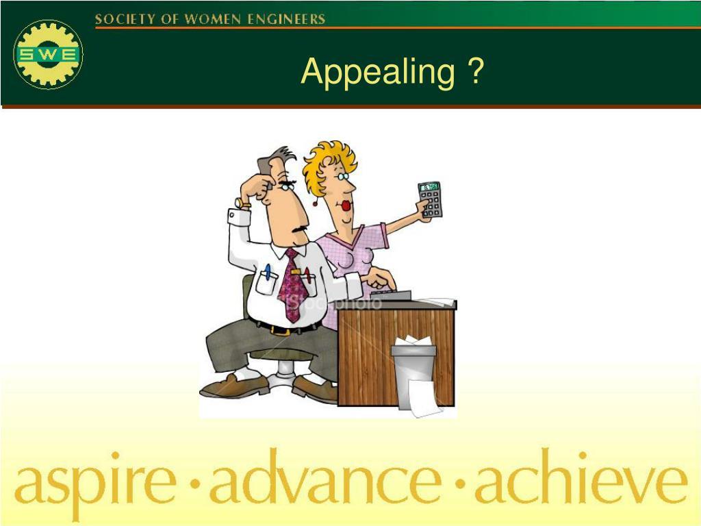 Appealing ?