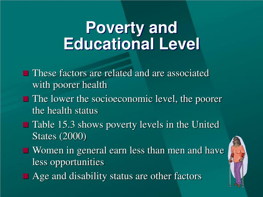 Poverty and
