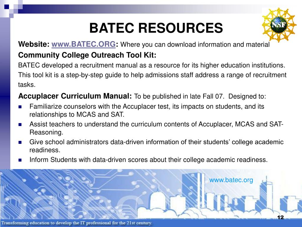 BATEC RESOURCES