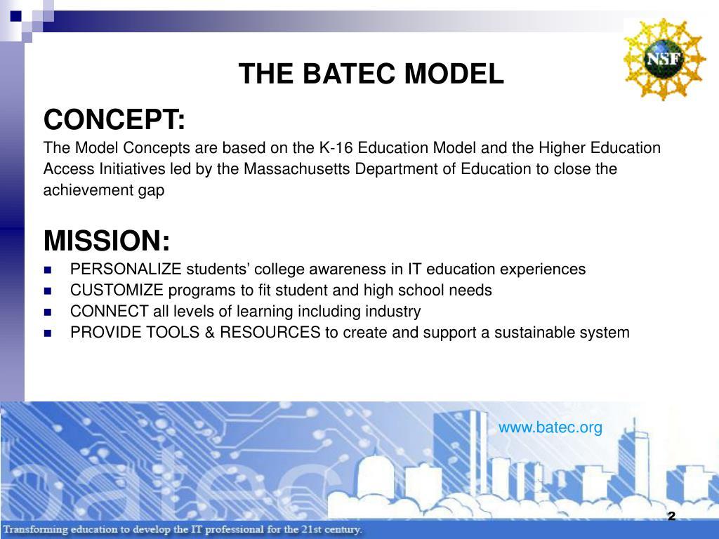 THE BATEC MODEL