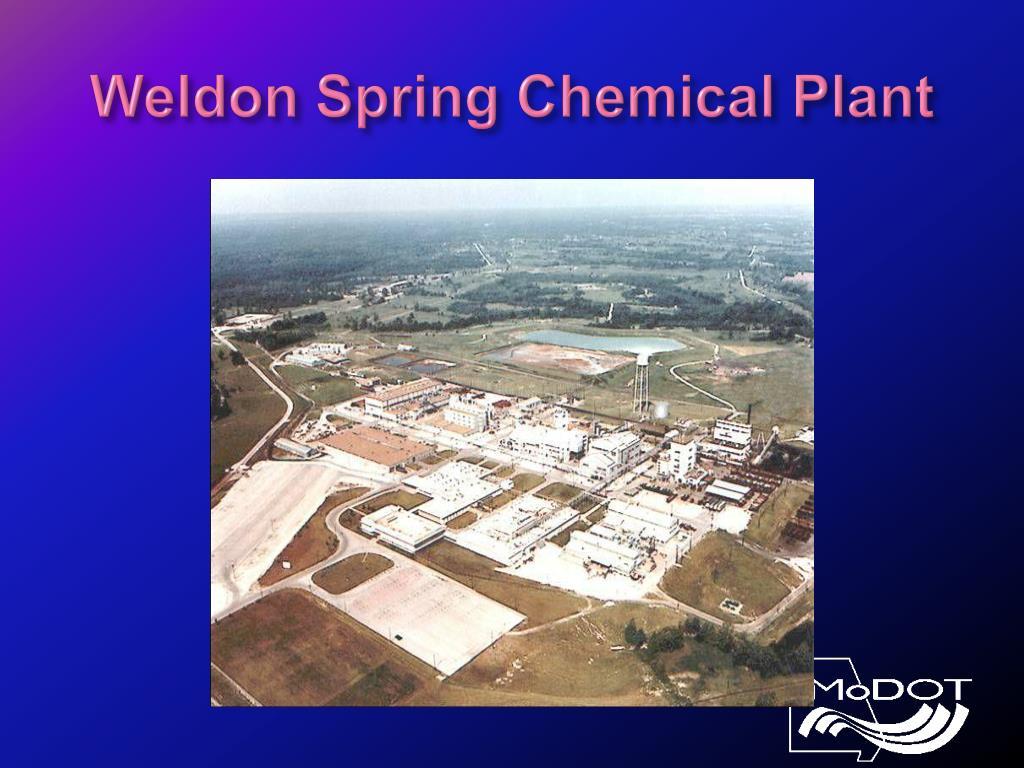 Weldon Spring Chemical Plant