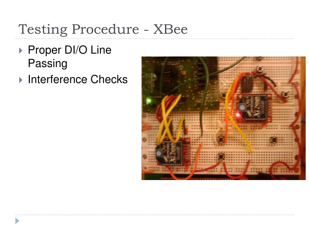 Testing Procedure - XBee