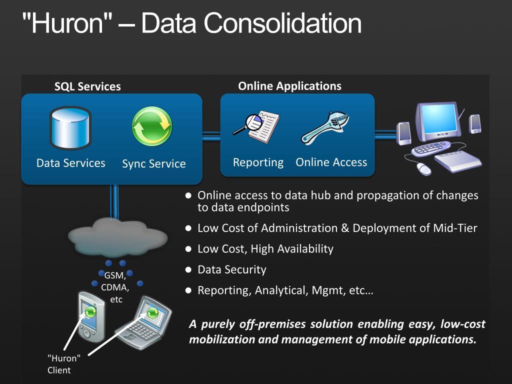 """Huron"" – Data Consolidation"