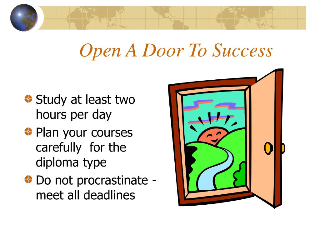 Open A Door To Success