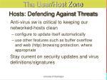 hosts defending against threats